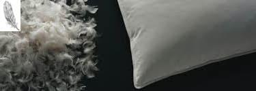 almohada de plumas precio